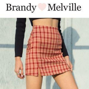 BRANDY MELVILLE cara skirt NWT